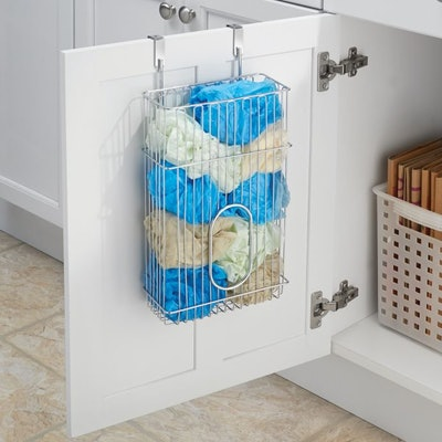 iDesign Classico Over-the-Cabinet Bag Holder