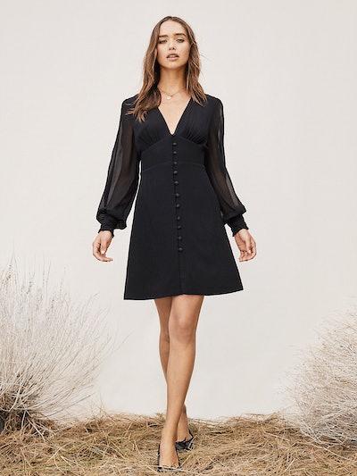 TVF Rosemary Chiffon Mini Dress