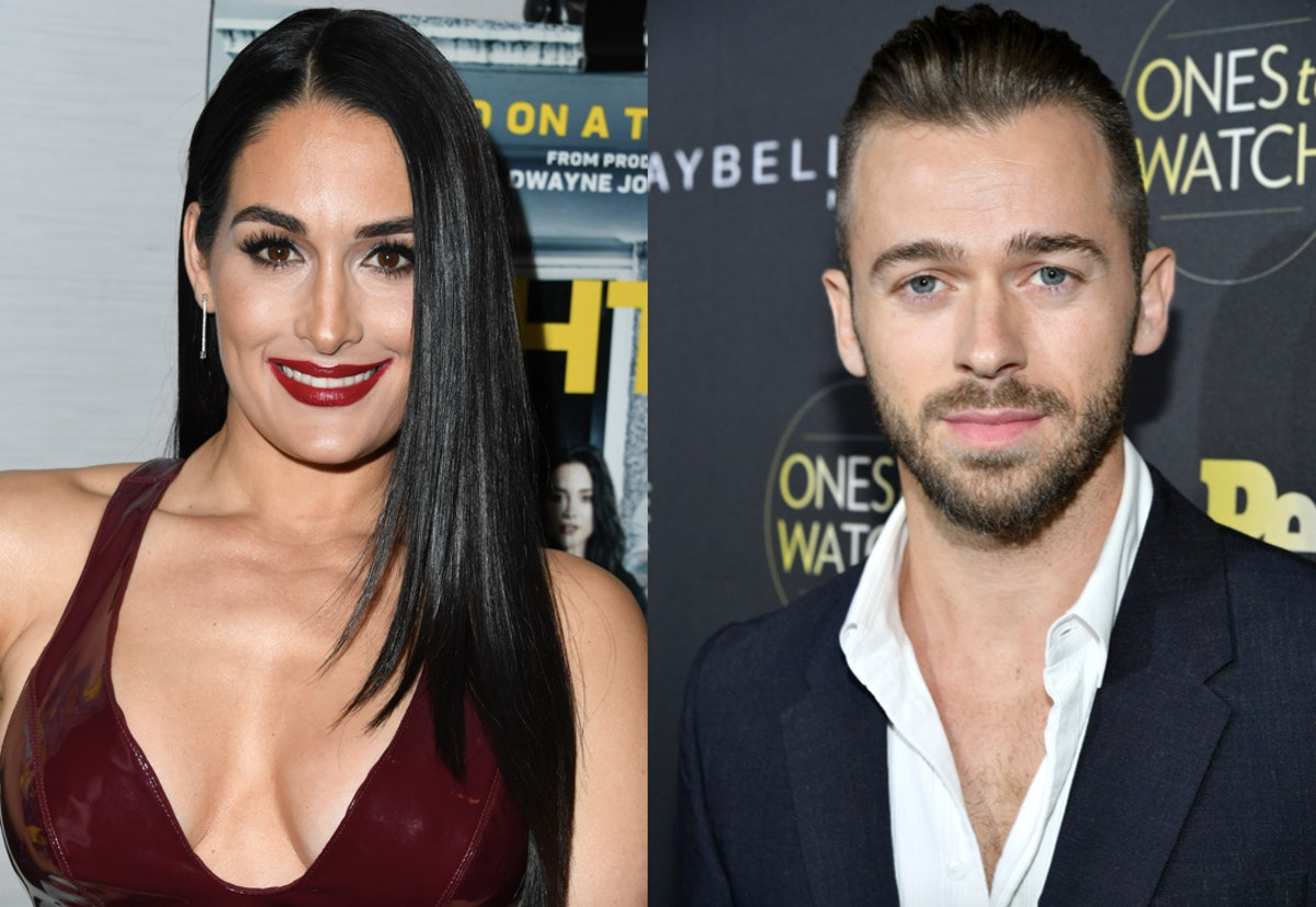 """Nikki Bella Reveals She & Artem Chigvintsev Aren't Official, But Says He's An """"Amazing Lover"""""""
