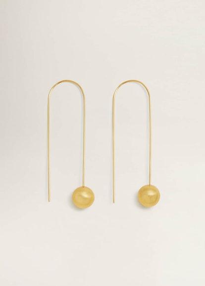 Renoir Circular Pendant Earrings