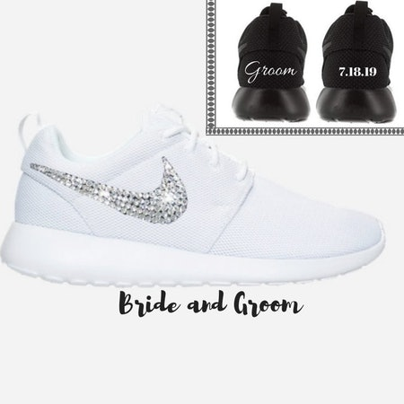 His and Hers Wedding Shoes