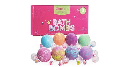 Schöne Body Bath Bombs With Rings (8-Pack)