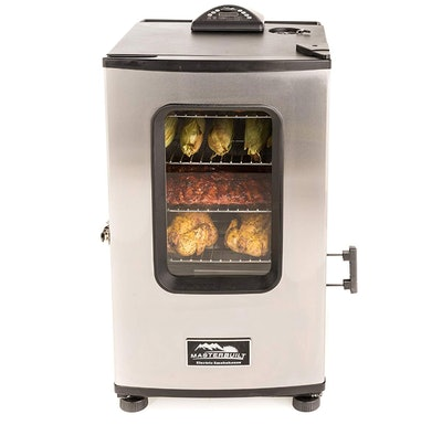 Masterbuilt Front Controller Electric Smoker with Window and RF Controller