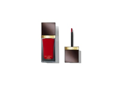 Nail Lacquer in Carnal Red
