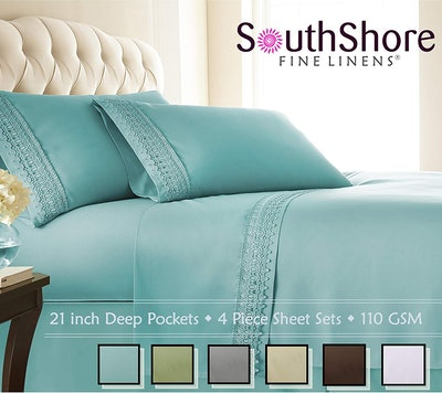 Southshore Fine Linens Deep Pocket Sheet Set