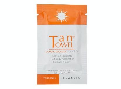 Tan Towel Body Tan Towelettes (10 Pack)
