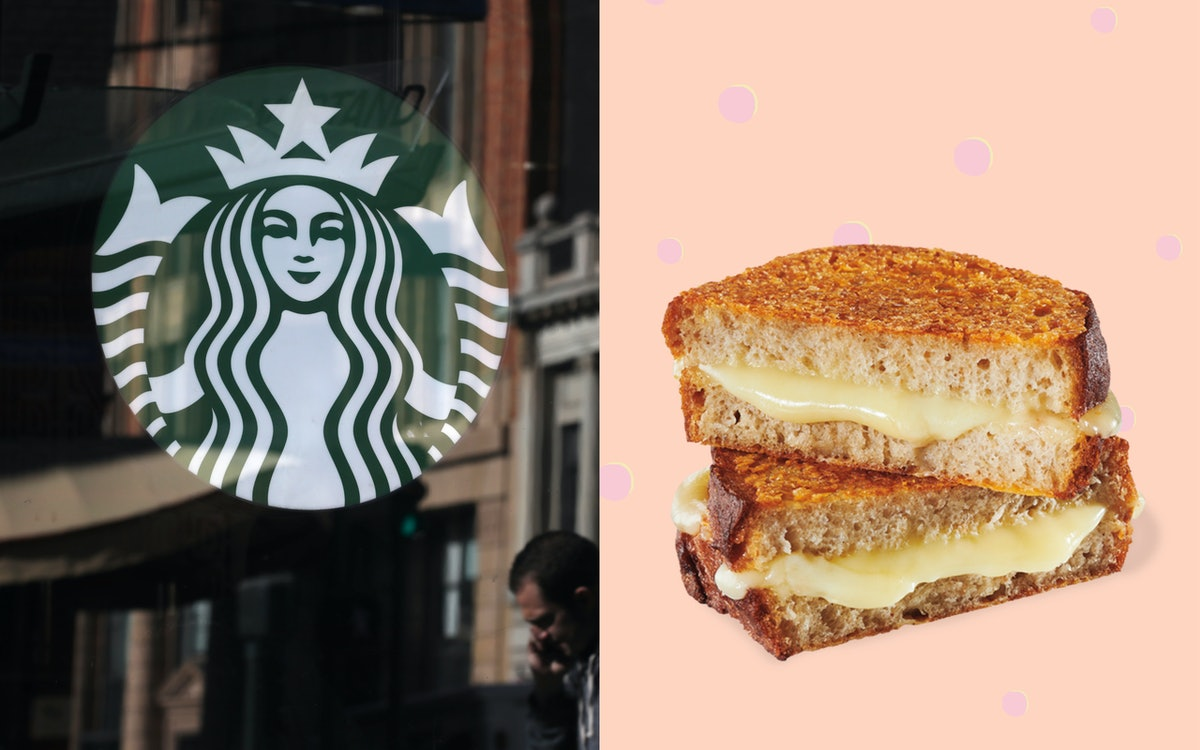 Starbucks' New Food Menu Items For Spring 2019 Include The Grilled Cheese Sandwich Of Your Dreams