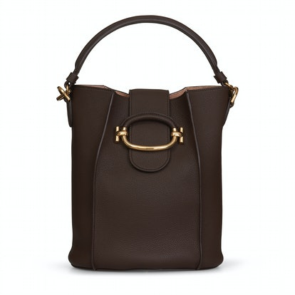 Bucket Bag Small in Brown