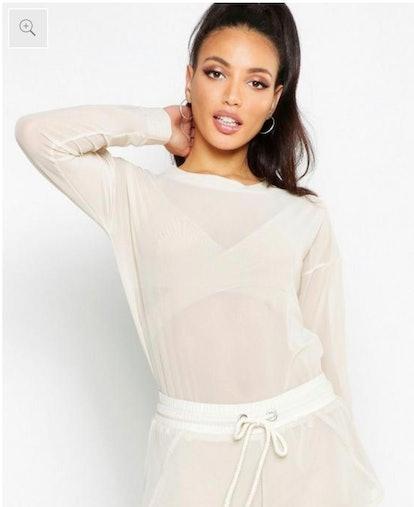 Fit Premium Mesh Sweater