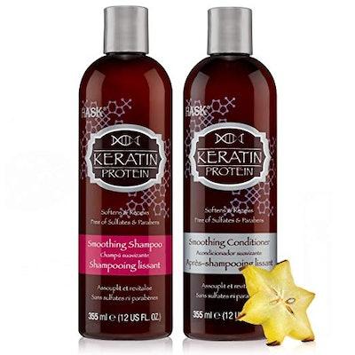 Keratin Protein Shampoo and Conditioner Set