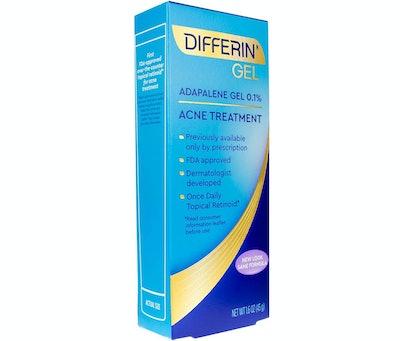 Differin Adapalene Prescription Strength Retinoid Gel 0.1% Acne Treatment
