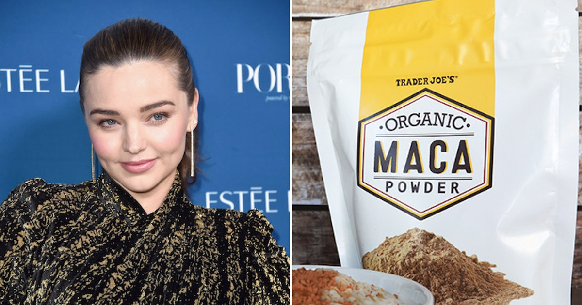 I Tried Maca Powder Like Miranda Kerr & It Was An Unexpectedly Sexy Boost