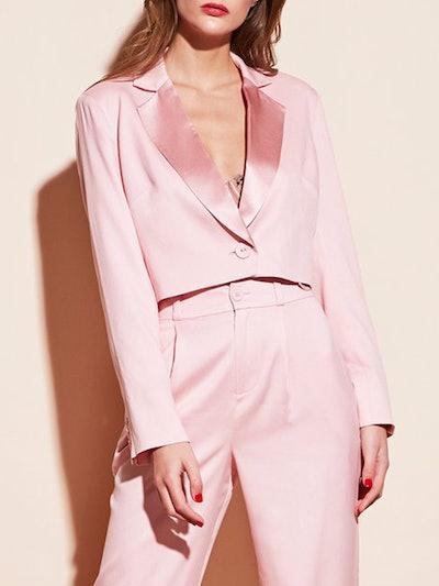 Silk Crop Blazer