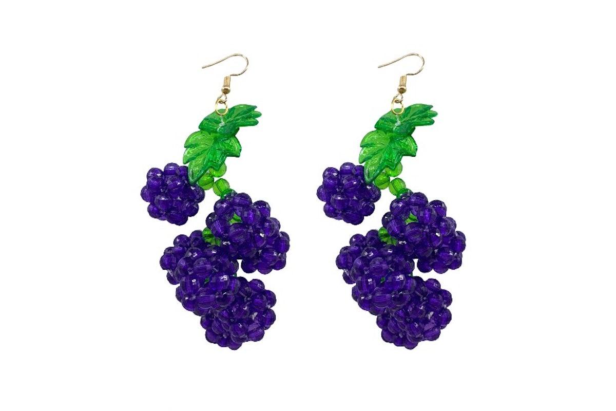 Grape Slushie Earrings