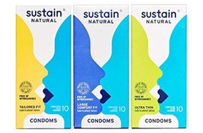 Sustain Natural Variety Pack Condoms (30-Pack)