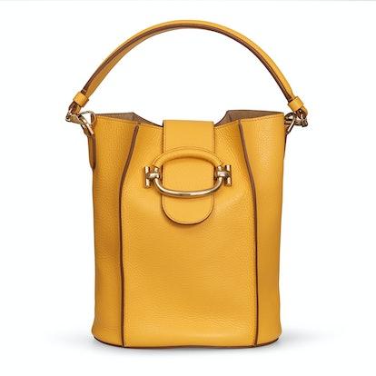 Bucket Bag Small in Yellow