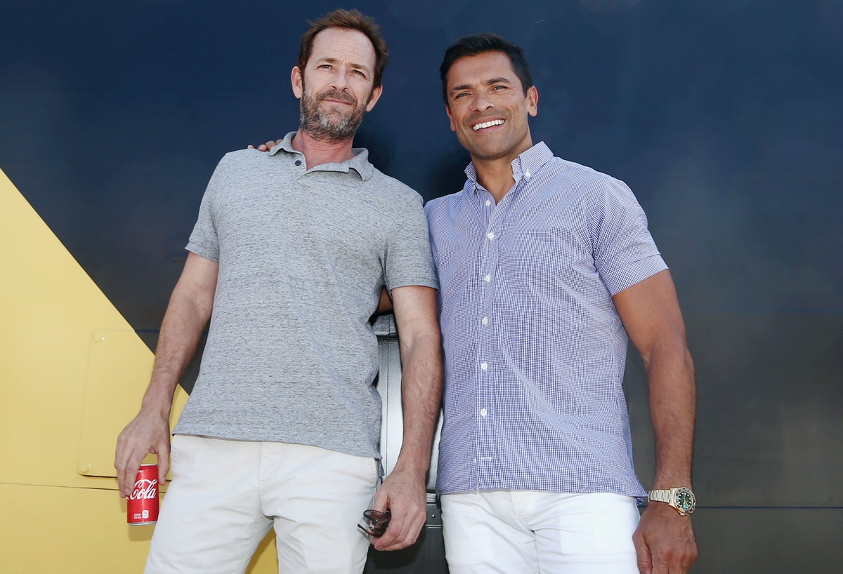 Mark Consuelos' Comments About Luke Perry Show How Much He Truly Admired His 'Riverdale' Costar