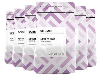 Solimo Epsom Salt Soaking Aid (Pack of 6)