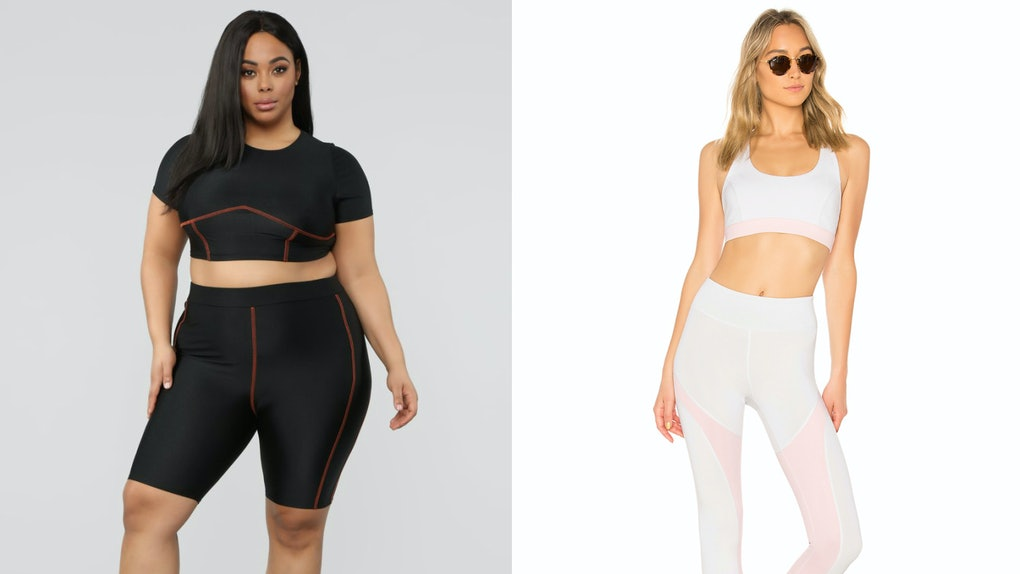 f59440f67f8d 20 Matching Workout Sets Under $75 That Will Make You Feel Fresh AF At The  Gym