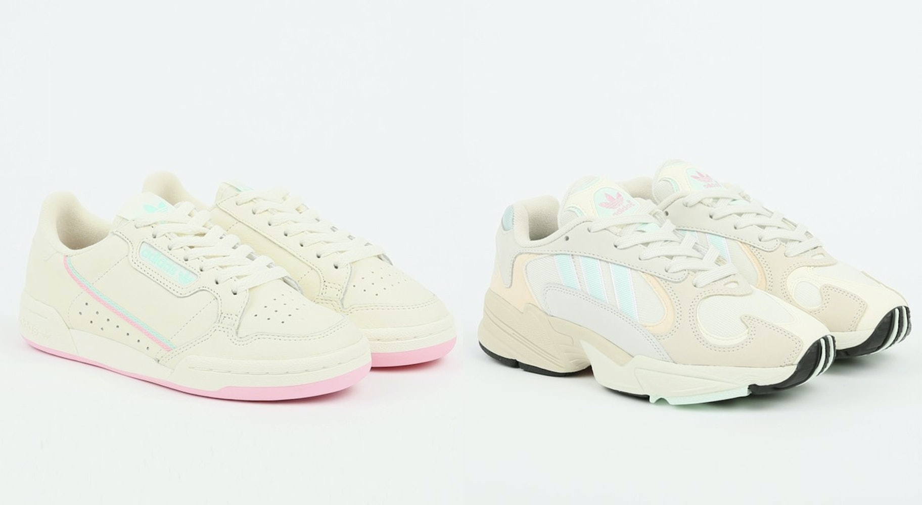 chaussures adidas pastel