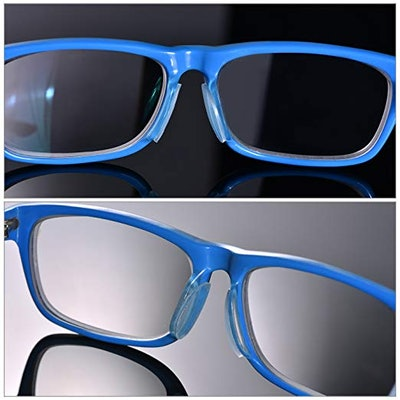 TOODOO Silicone Eyeglass Nose Pads (18 Pairs)