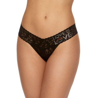 Love is Love Low Rise Thong
