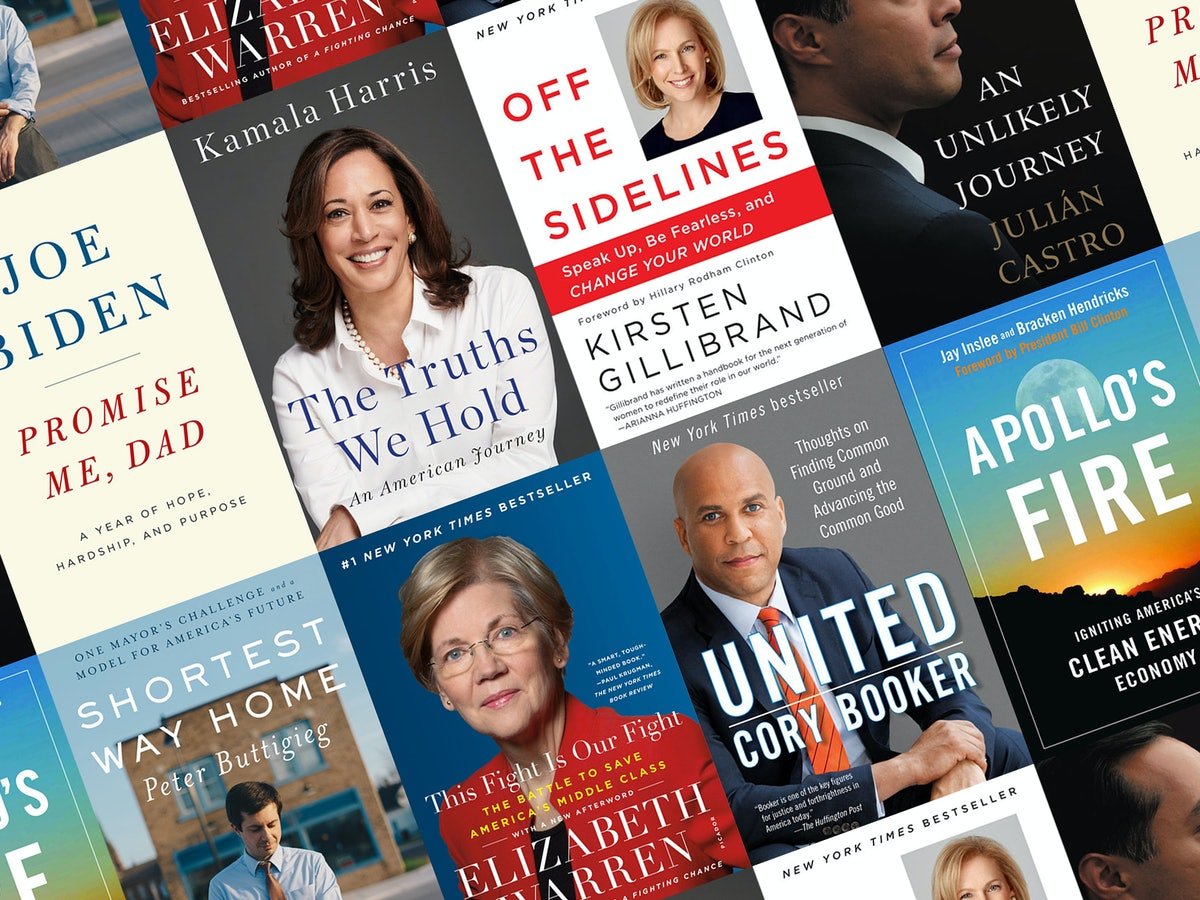 20 Books Written By 2020 Presidential Candidates, Because You Can Judge A Candidate By Their Book