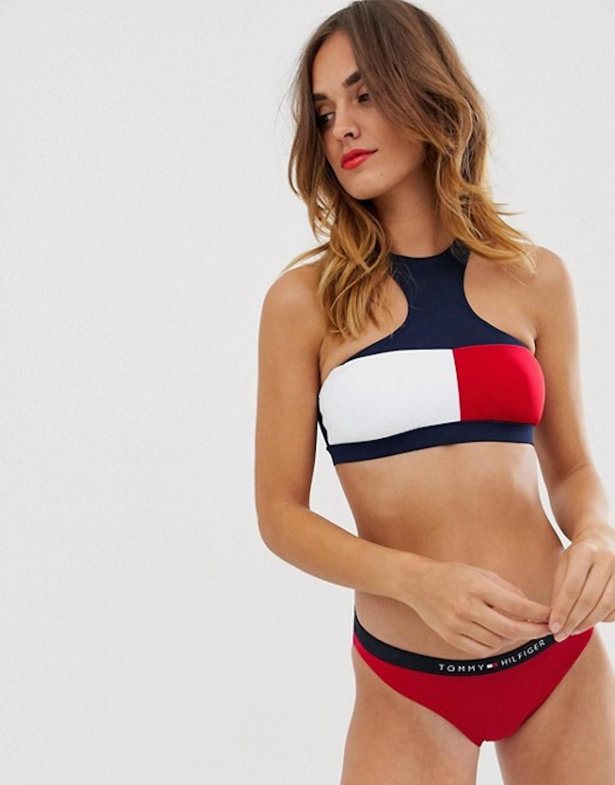 Tommy Hilfiger Logo Band Bikini Bottoms