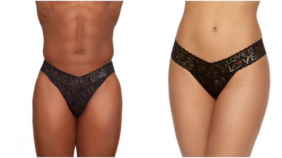 10452fcadf6 Where To Buy Hanky Panky's Love Is Love Collection, Because Thongs Should  Be For Everyone