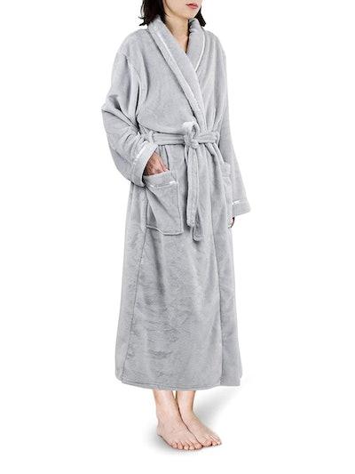PAVILIA Premium Fleece Robe