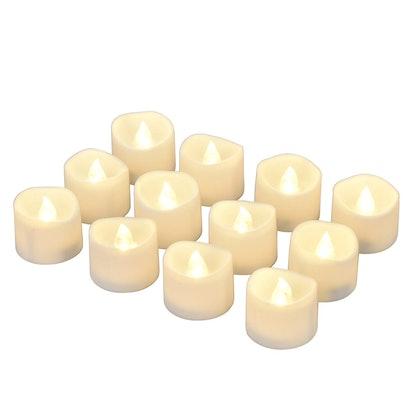 eLander LED Tea Lights (12 Pack)