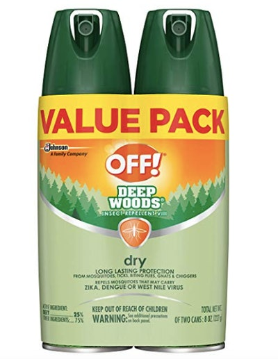 OFF! Deep Woods Insect Repellent VIII Dry (2 ct)