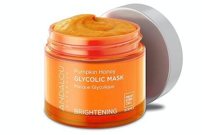 Andalou Naturals Pumpkin Honey Glycolic Mask, 1.7 Fl. Oz.