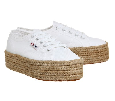 Superga 2790 White Espadrille