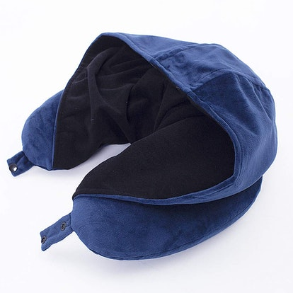 TFTDOUP Hooded Travel Pillow