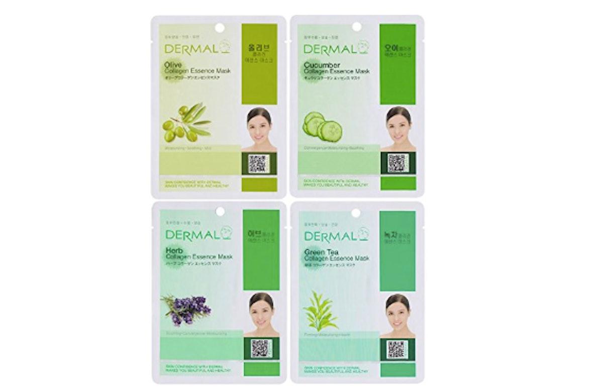 Dermal Collagen Essence Sheet Mask Set (24-Pack)