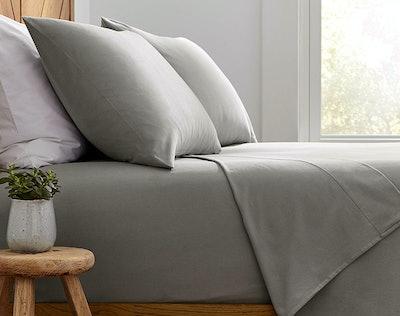 Stone & Beam 100% Cotton Flannel Sheet Set