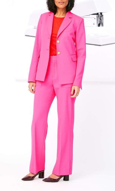 Vent Cuff Blazer & Patch Pocket Trouser