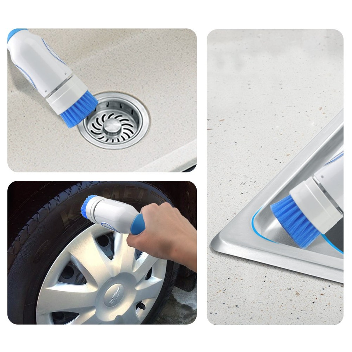 Microant Power Scrubber Brush