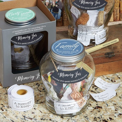 Top Shelf Family Memory Jar