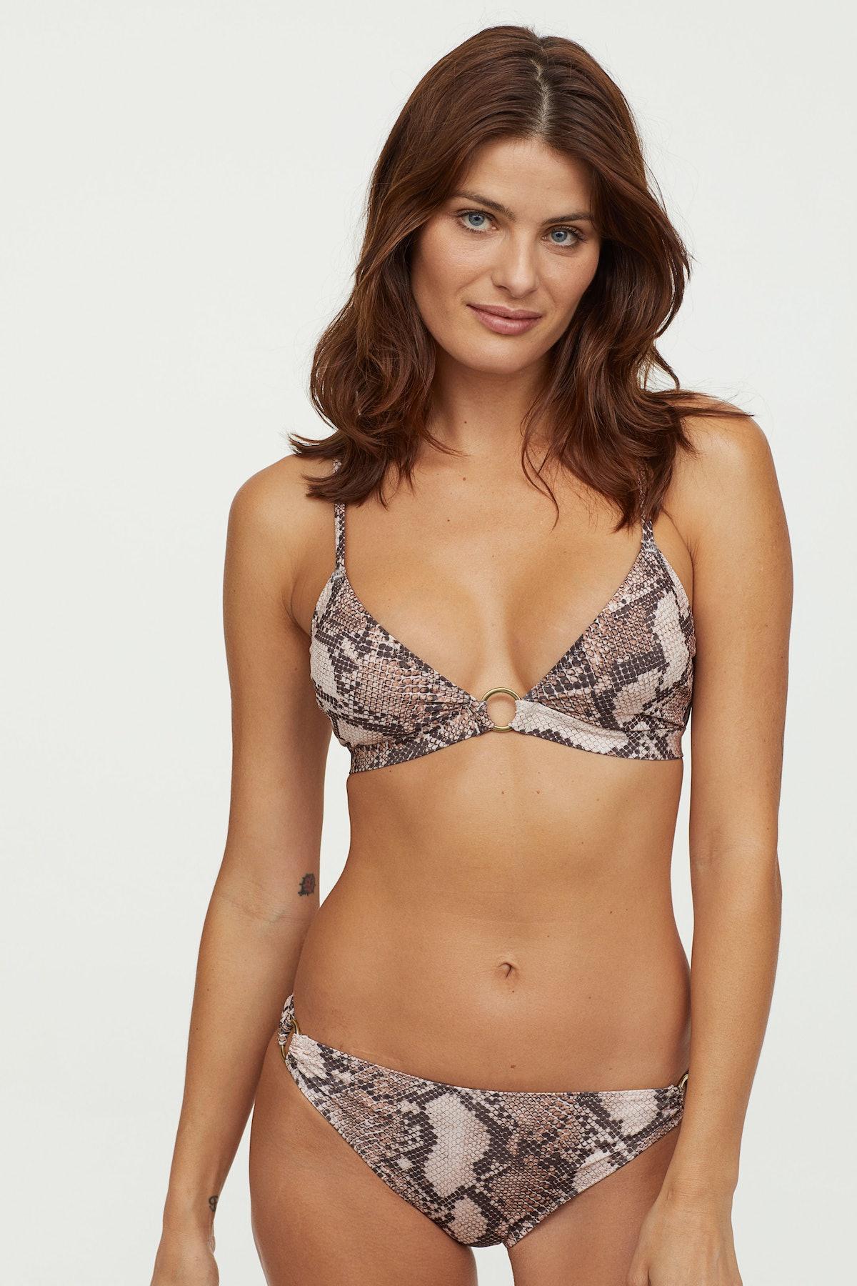 Padded Triangle Bikini Top