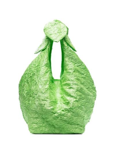 Green Lucite Tote