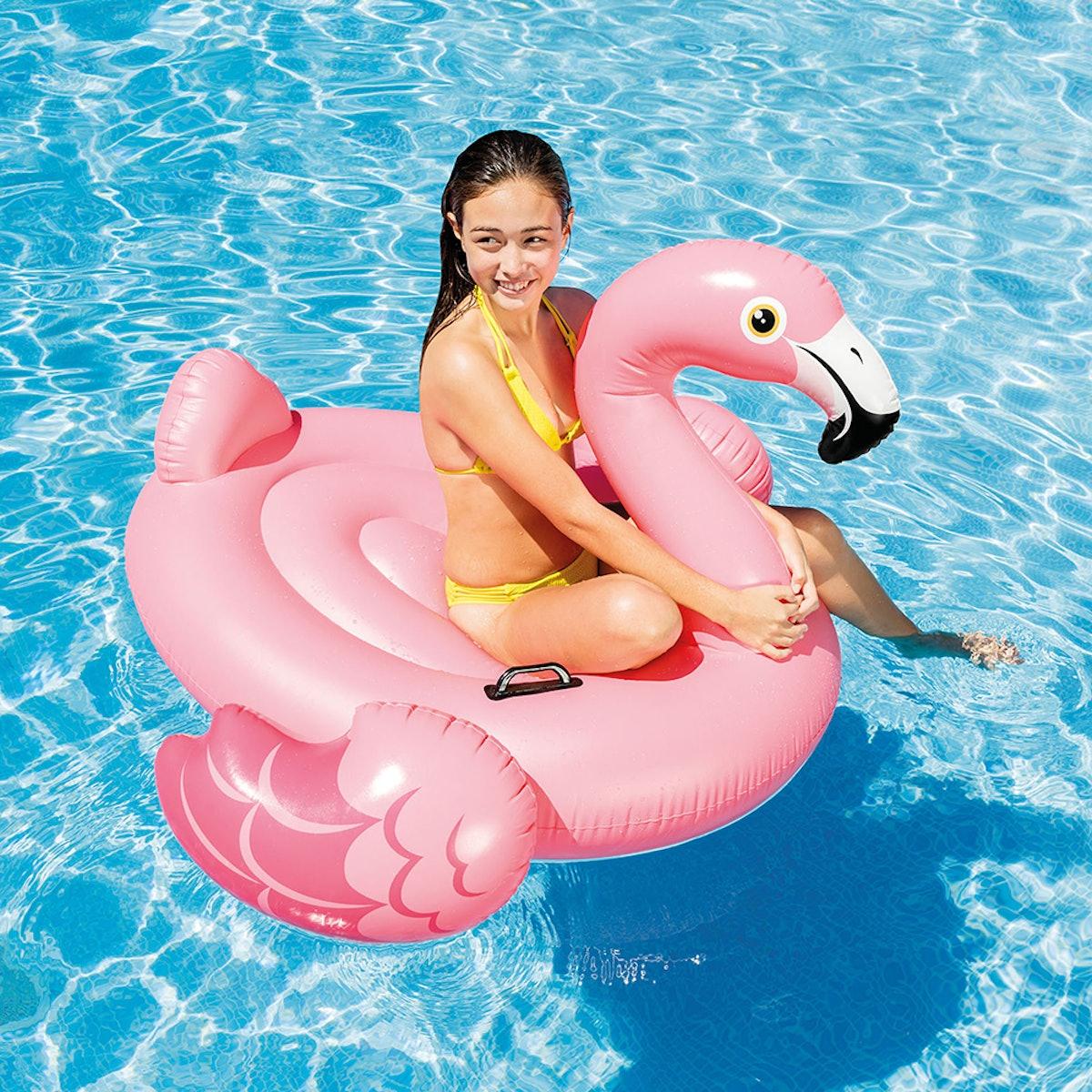 Intex Inflatable Flamingo Ride On Pool Float
