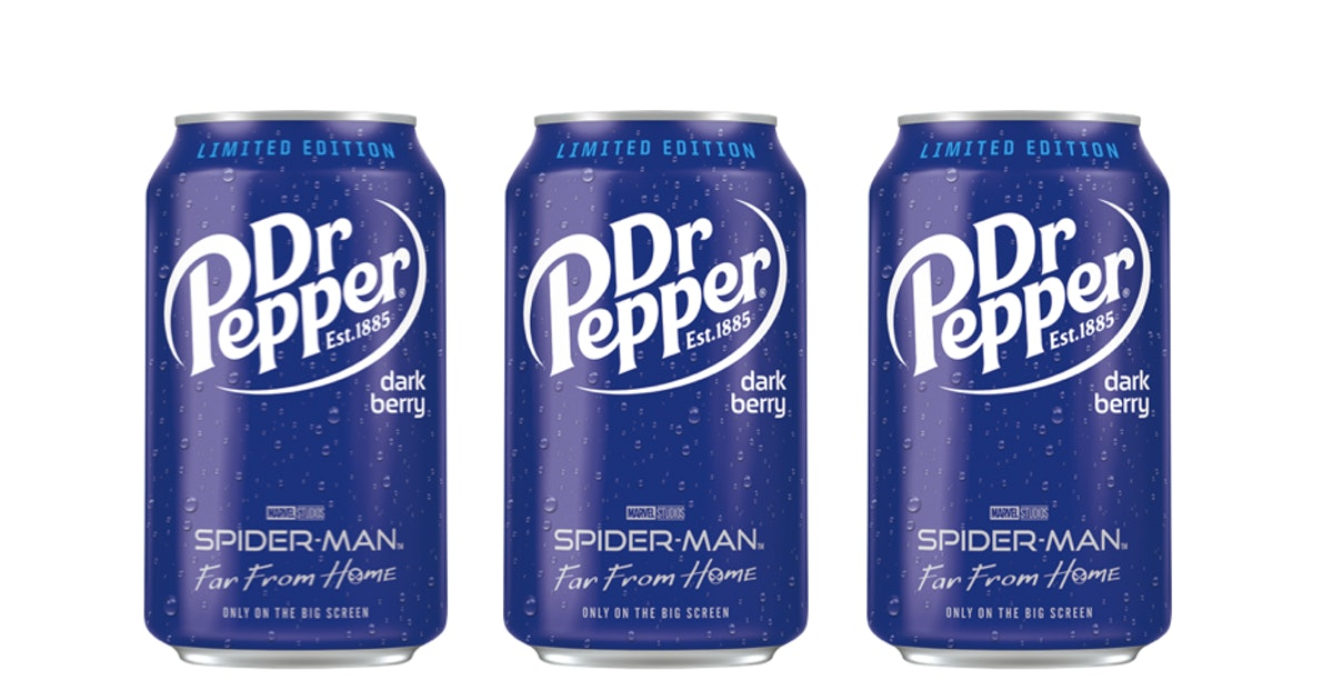 Here's Where To Get Dr. Pepper's New Dark Berry Flavor, Because It Seems Tasty AF