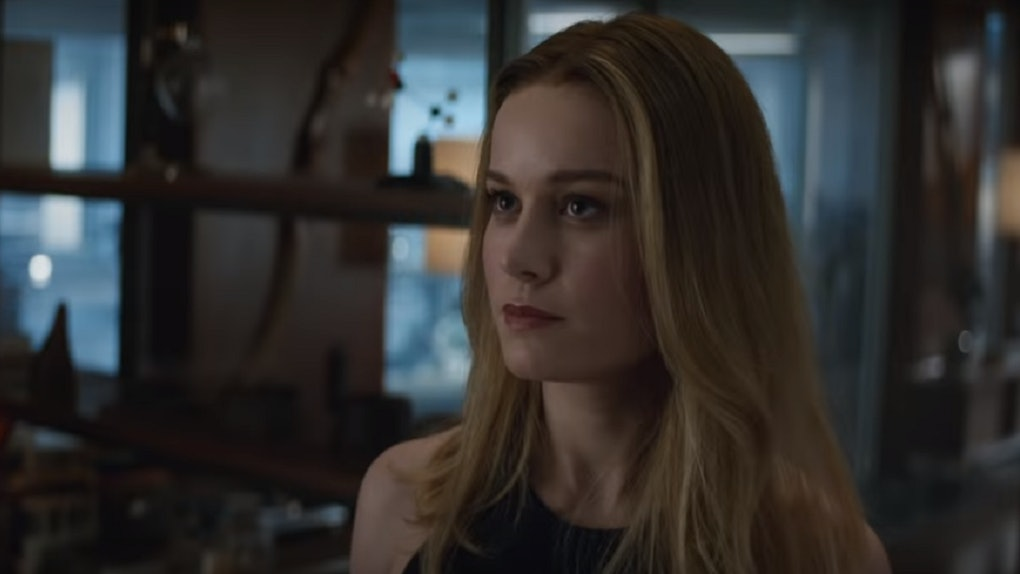 Captain Marvel S Hair In Avengers Endgame Is My Biggest Takeaway From The Movie Tbh