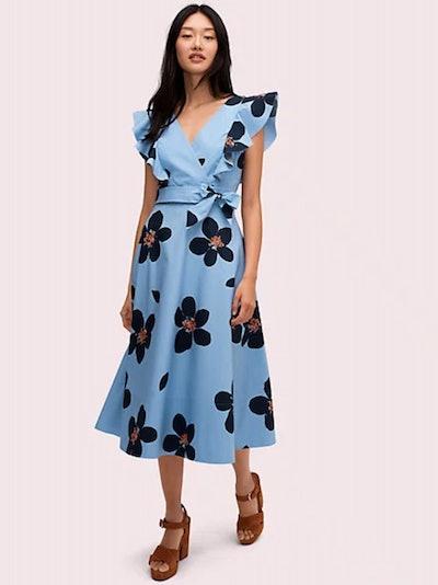 Grand Flora Midi Dress