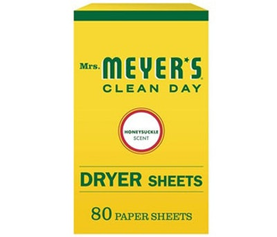 Mrs. Meyer's Clean Day Dryer Sheets (80 Count)