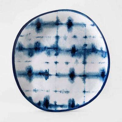 Melamine Shibori Dinner Plate