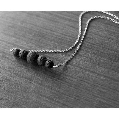 ttstar Lavastone Aromatherapy Necklace
