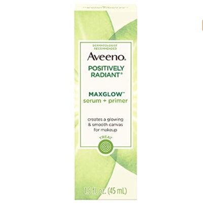 Aveeno Positively Radiant MaxGlow Serum And Primer
